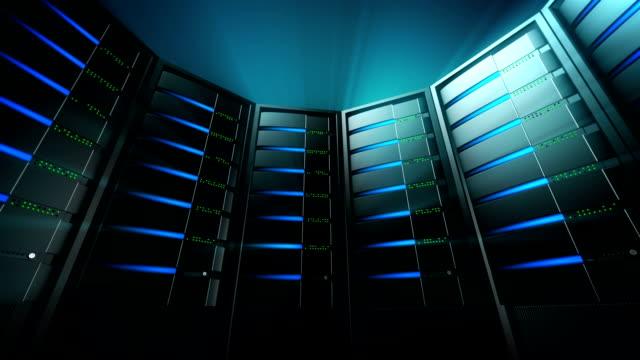 Servers Background 3 (Loop) video