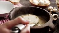 Serving soup video