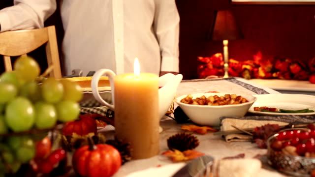 Serving Thanksgiving Turkey video