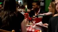 Serving Wine in Restaurant video