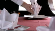 Setting the table video