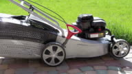 Setting up lawn mowers video