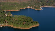 Seven Lakes  - Aerial View - North Carolina,  Moore County,  United States video