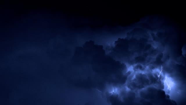 Severe thunderstorm over Miami video