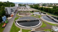 Sewage treatment plant video