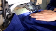 sewing machine. video