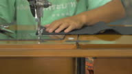 Sewing On A Machine video
