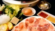Shabu Shabu and Sukiyaki,Japanese Style and thai Style video