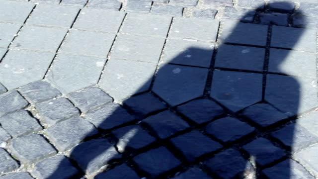 Shaddow Walking on Pavement video
