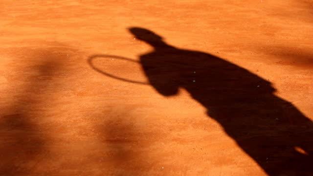 Shadow tennis video