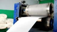 shaft which pushes a relief pattern on paper video
