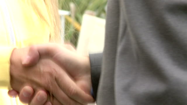 Shake hands video