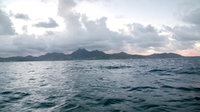 Shaky ride on boat video
