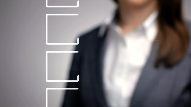 shallow depth of field business symbol concept vote video