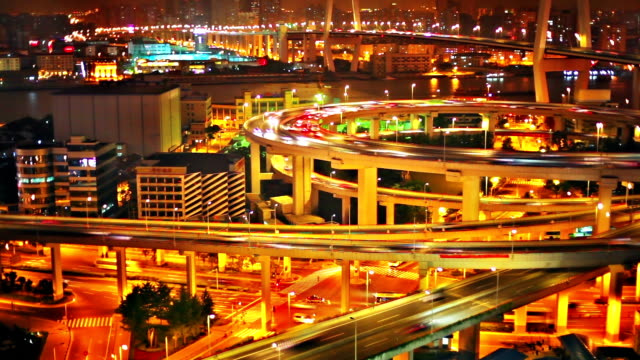 Shanghai bridge video