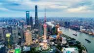 Shanghai Bund skyline video