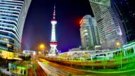 Shanghai business district video