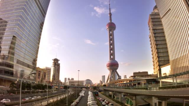 Shanghai, bussines district video