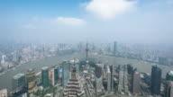 Shanghai cityscape 4k TimeLapse video