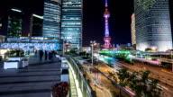 T/L WS TU Shanghai cityscape video