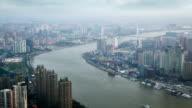Shanghai in smog video