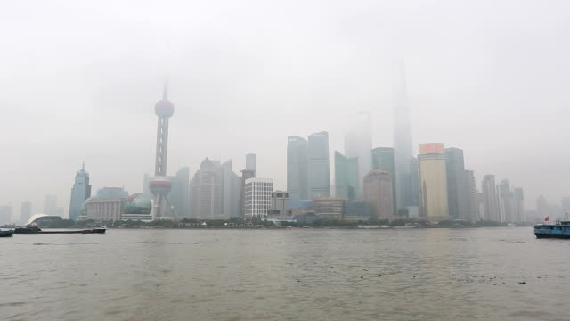 shanghai lujiazui financial center video