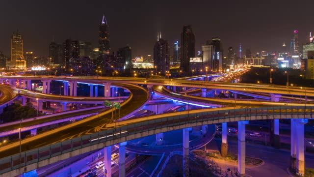 Shanghai Nanbei elevated road video