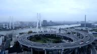 Shanghai overpass video