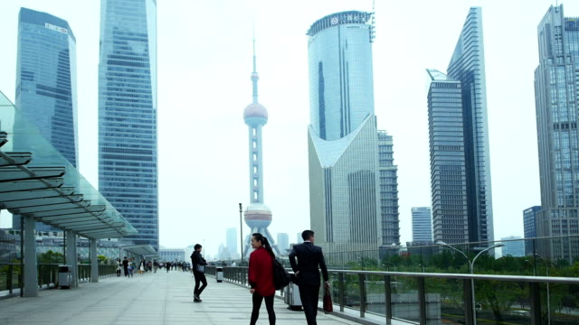 Shanghai Pudong area video