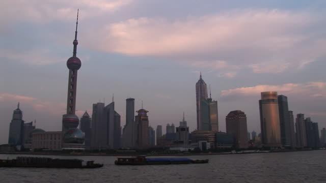Shanghai skyline at sunset = HDV #78 video