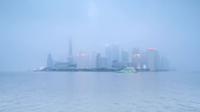 Shanghai skyline video