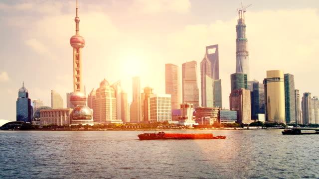 Shanghai sunrise video