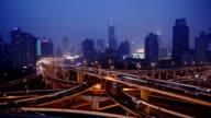 Shanghai viaduct video
