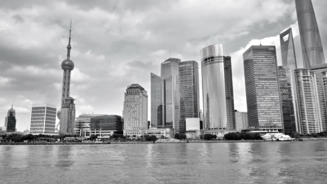 shanghai view from the river video