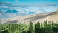 Shanti Stupa In Leh Village, Ladakh, India video