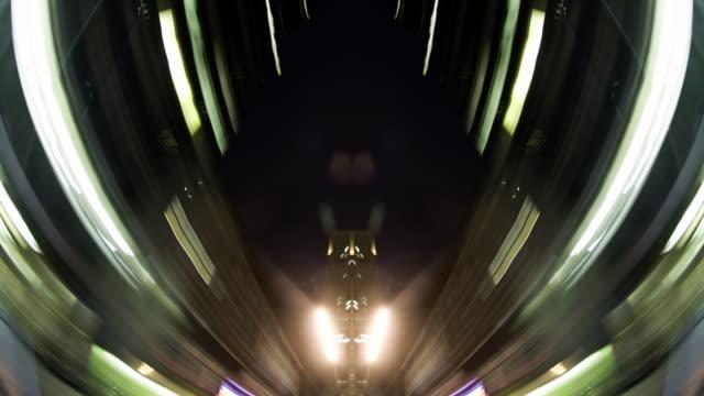 Sharp POV through cityscape - 1080p video