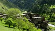 Shatili Village Caucasus  Georgia video