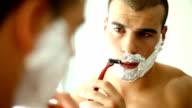 Shaving. video