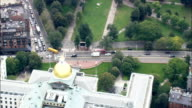 Shaw Memorial  - Aerial View - Massachusetts,  Suffolk County,  United States video