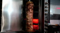 Shawarma on Vertical Spit video