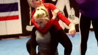 She Is Teaching Mixed Martial Arts video