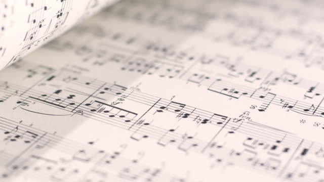 Sheet Music video