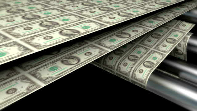 Sheet of One Hundred Dollar Bills | Finance and Business video