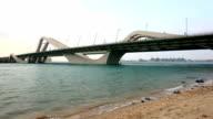 Sheikh Zayed Bridge in Abu Dhabi video