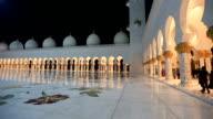 Sheikh Zayed Grand Mosque Abu Dhabi UAE video