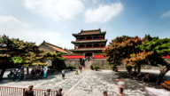 Shenyang,China-Aug 1,2014: The famous Phoenix Tower in Forbidden City of Shenyang, China video