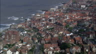 Sheringham  - Aerial View - England, Norfolk, North Norfolk District, United Kingdom video