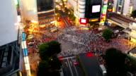 Shibuya Crossing in Tokyo video