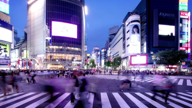 Shibuya Crossing Tokyo Japan video