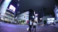 Shibuya Crossing, Tokyo: Street level video